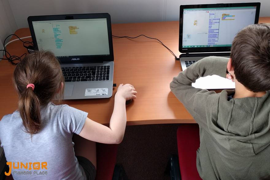Codage d'un jeu en Scratch - Photos