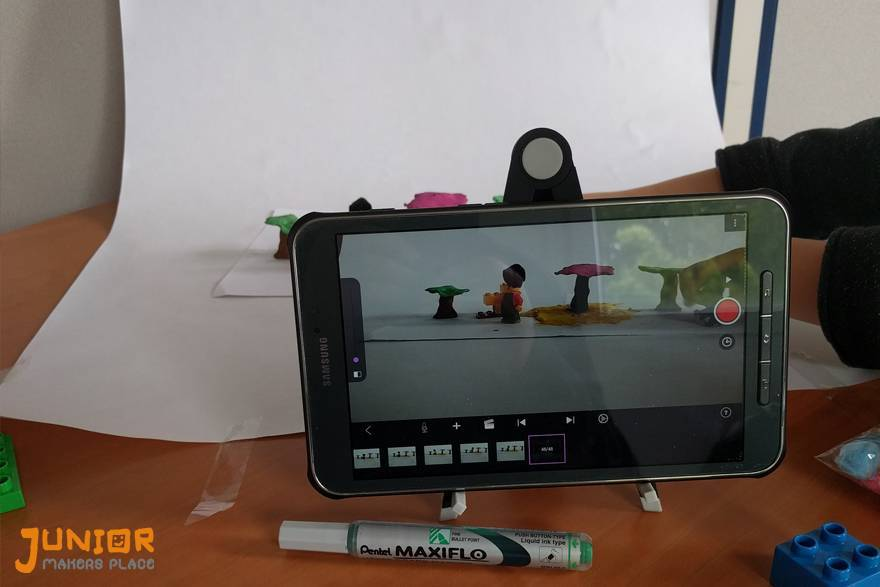 Stage de Stop Motion - Photos